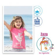 Tee Shirt rose Zaza