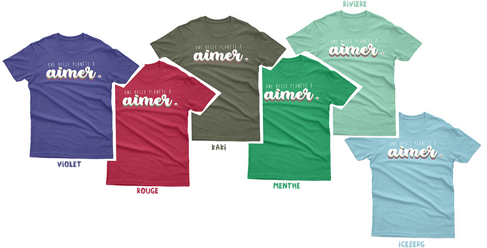 Collection tee-shirt adulte