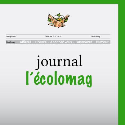 Journal écologique - l'écolomag