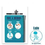 Carnet à dessin Lulu