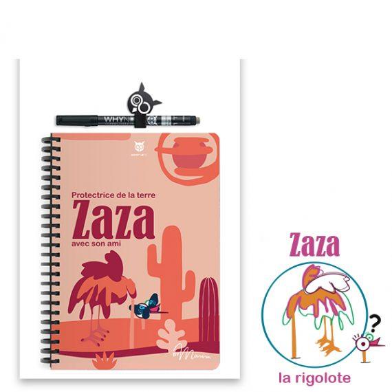 Carnet à dessin Zaza